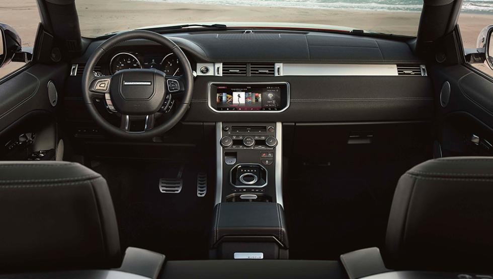 Prueba Range Rover Evoque cabrio cuadro