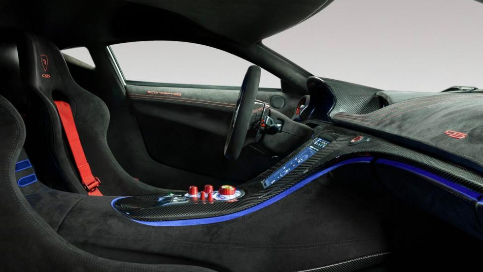 Rimac Concept S Interior