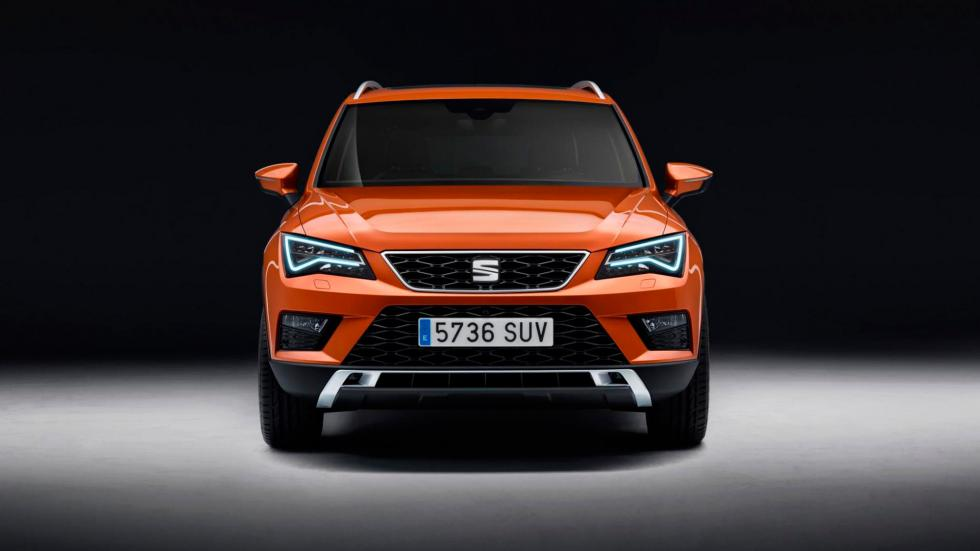 Seat Ateca, frontal