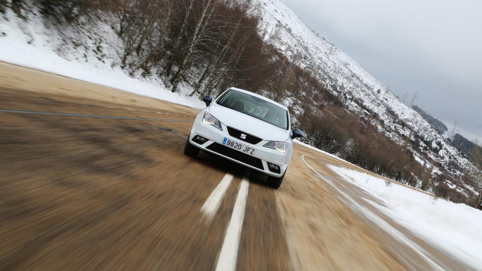 Seat Ibiza EcoTSI Connect, dinámica frontal