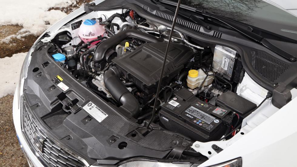 Seat Ibiza EcoTSI Connect, motor