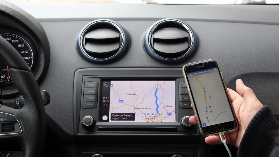 Seat Ibiza EcoTSI Connect, navegador