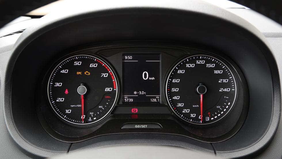 Seat Ibiza EcoTSI Connect, relojes