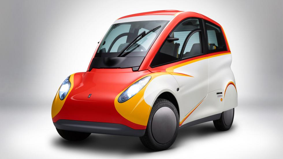 Shell Concept Car, frontal