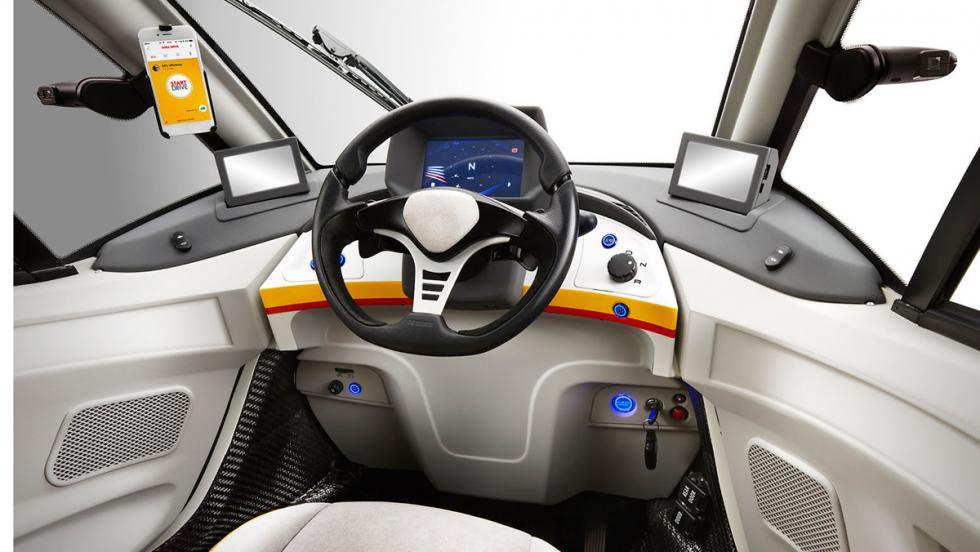 Shell Concept Car, interior