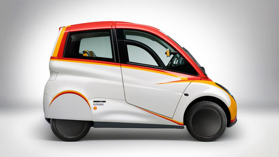Shell Concept Car, lateral