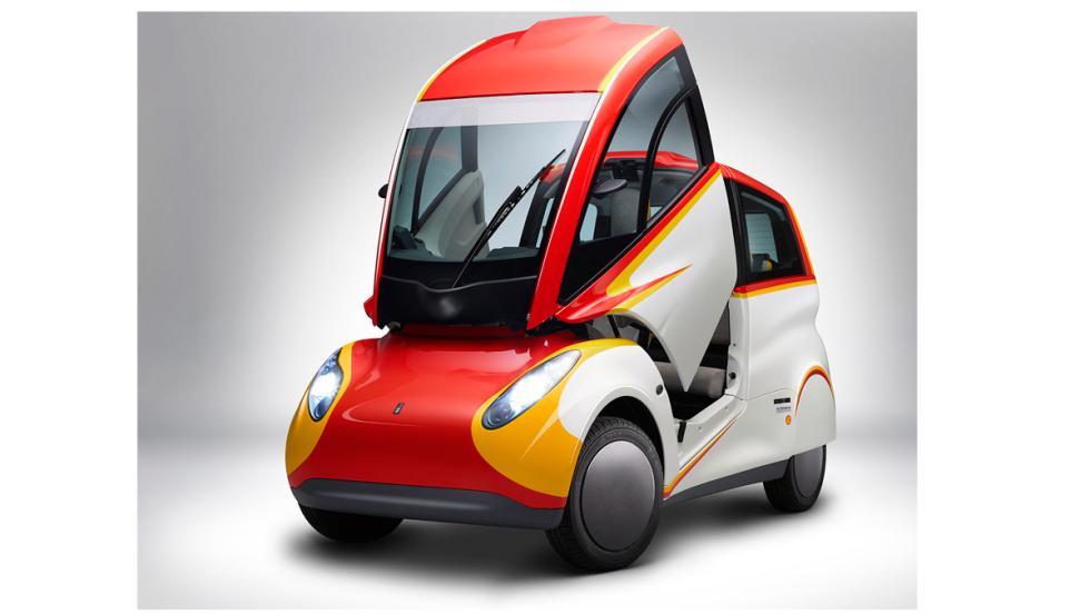 Shell Concept Car, techo