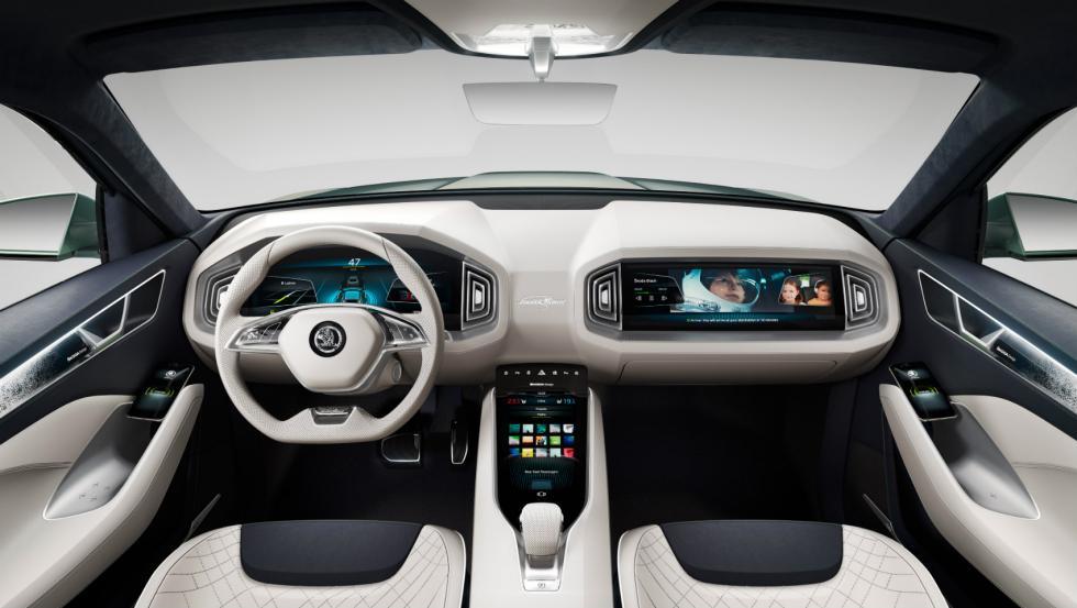Skoda Vision S interior