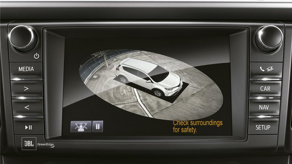 Toyota RAV4 Hybrid, cámara 360º