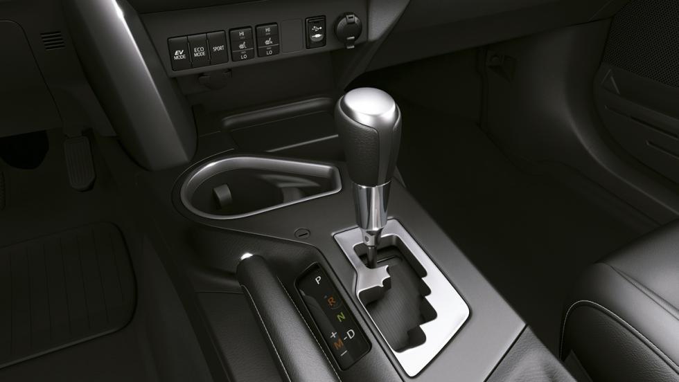 Toyota RAV4 Hybrid, cambio secuencial