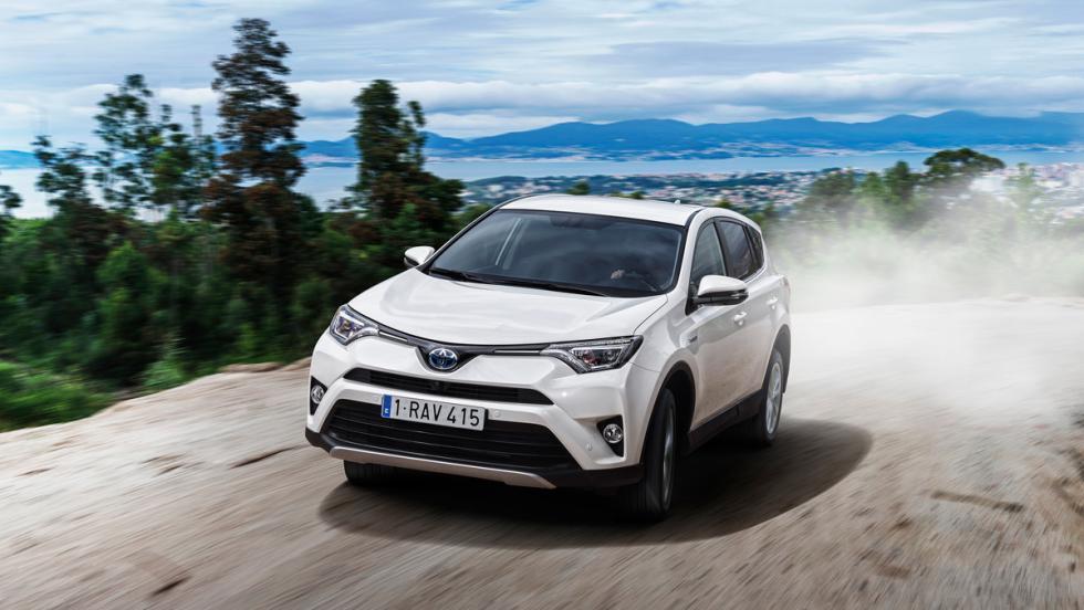 Toyota SUV RAV4, tracción total