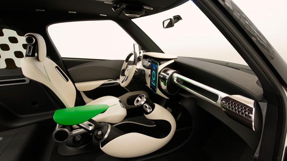 Toyota U2 Concept, asientos