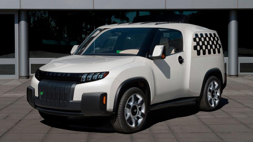 Toyota U2 Concept, frontal
