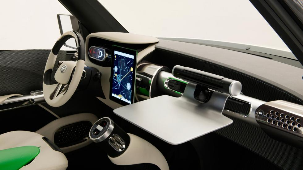 Toyota U2 Concept, interior