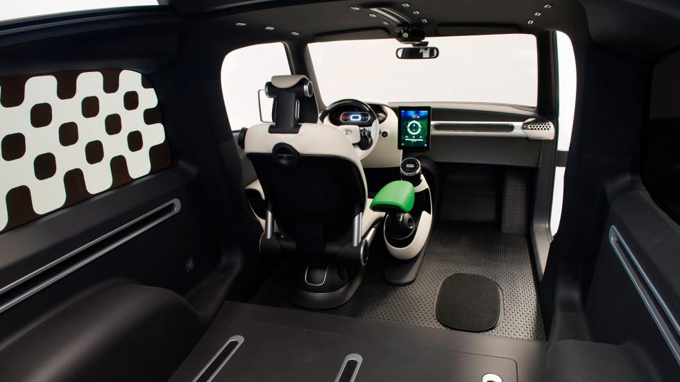 Toyota U2 Concept, maletero
