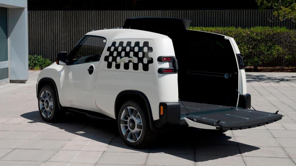 Toyota U2 Concept, portón