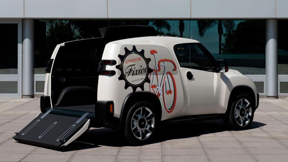 Toyota U2 Concept, rampa