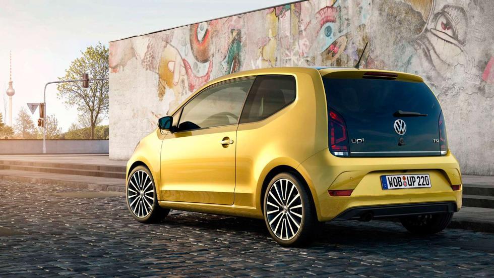 Volkswagen Up! 2016 trasera estática