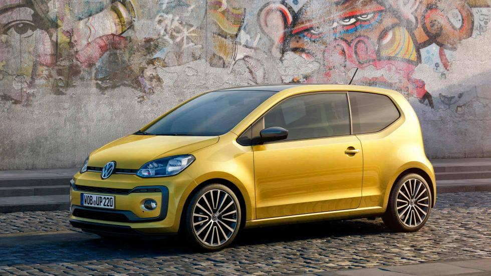 Volkswagen Up 2016 frontal estática