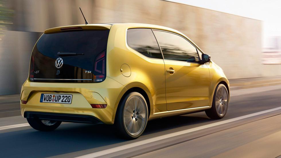 Volkswagen Up! 2016 trasera movimiento