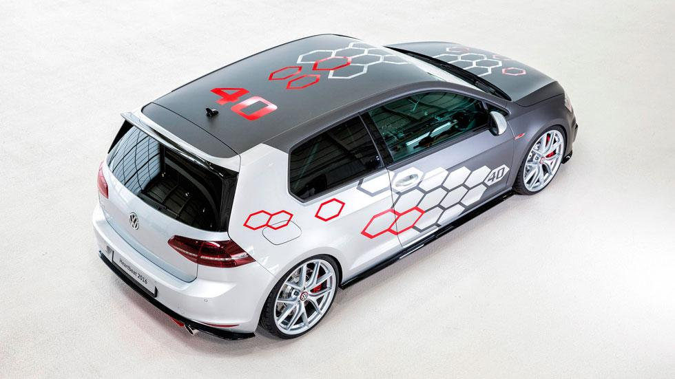 Volkswagen Golf GTI Heartbeat cenital diseño Worthersee