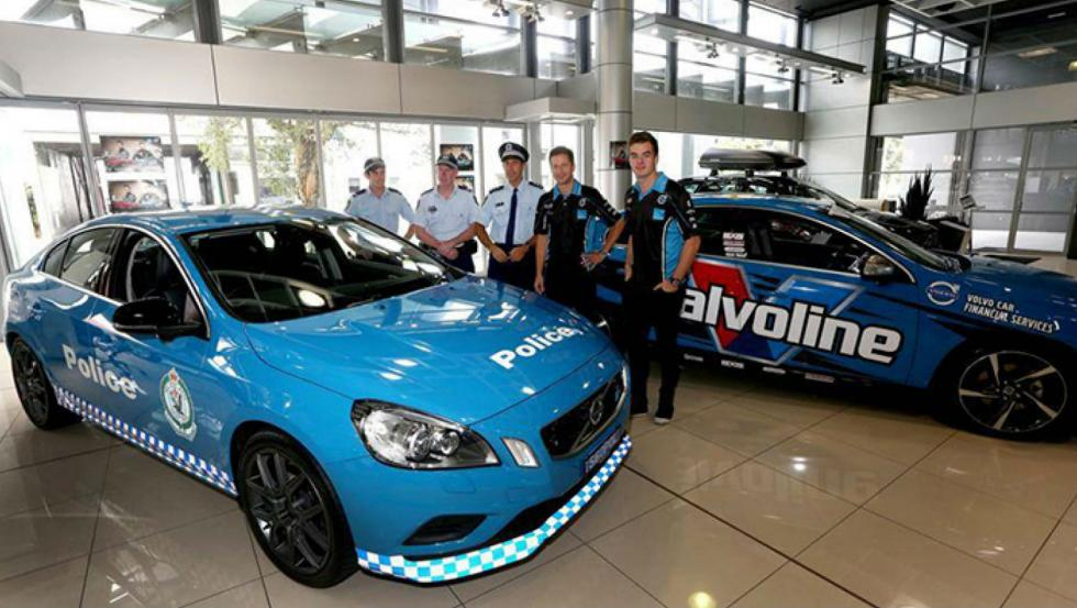 Volvo S60 Polestar - Policía de Australia