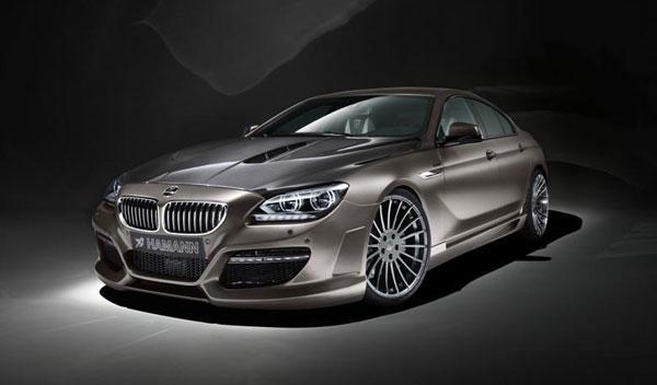 BMW Serie 6 Gran Coupé Hamman frontal estática
