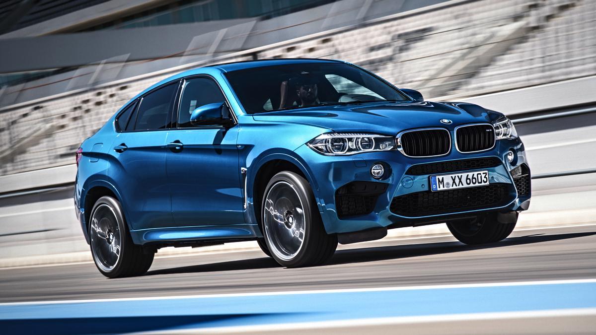 BMW X6 M frontal dinámica