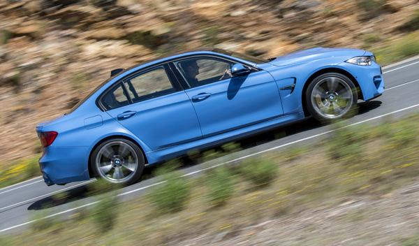 Nuevo BMW M3 lateral