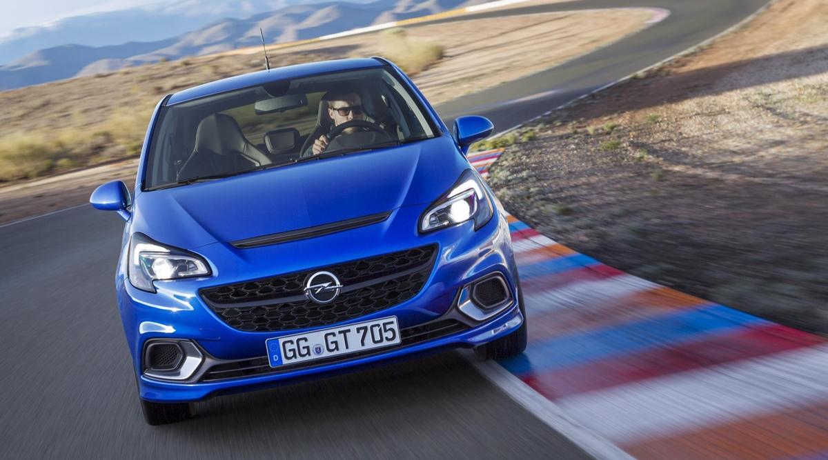 Opel Corsa OPC 2015 frontal