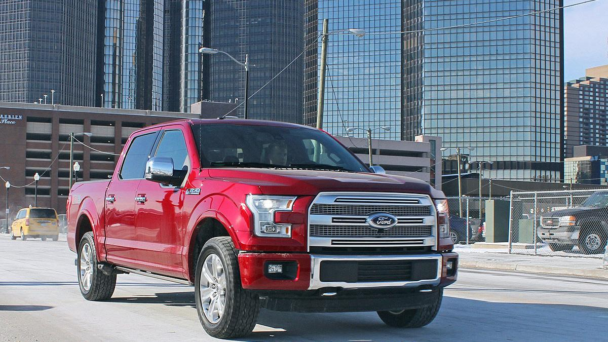 Ford F-150 V8 4x4 2015