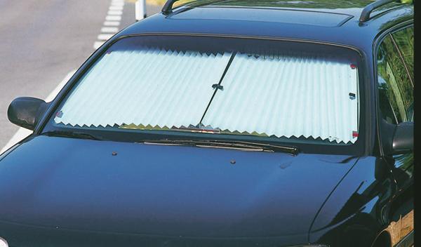 enfriar coche verano parasol