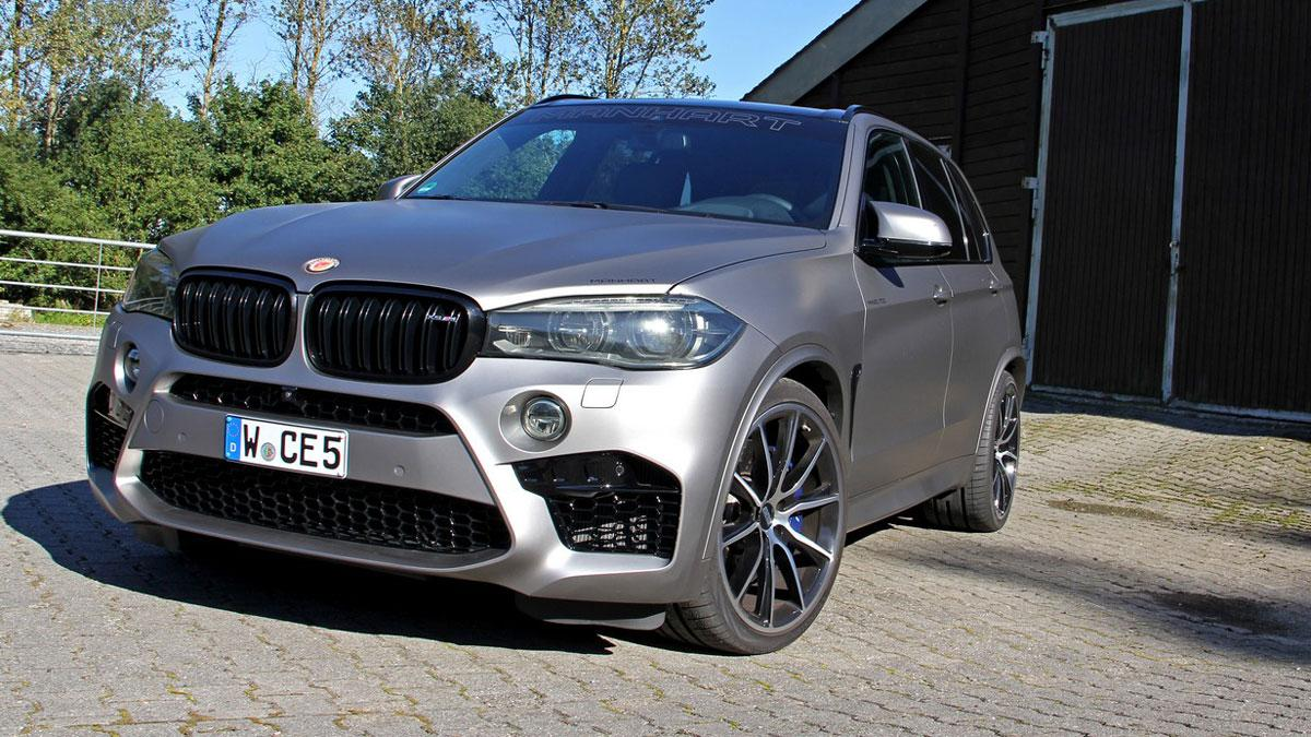BMW X5 M by Manhart