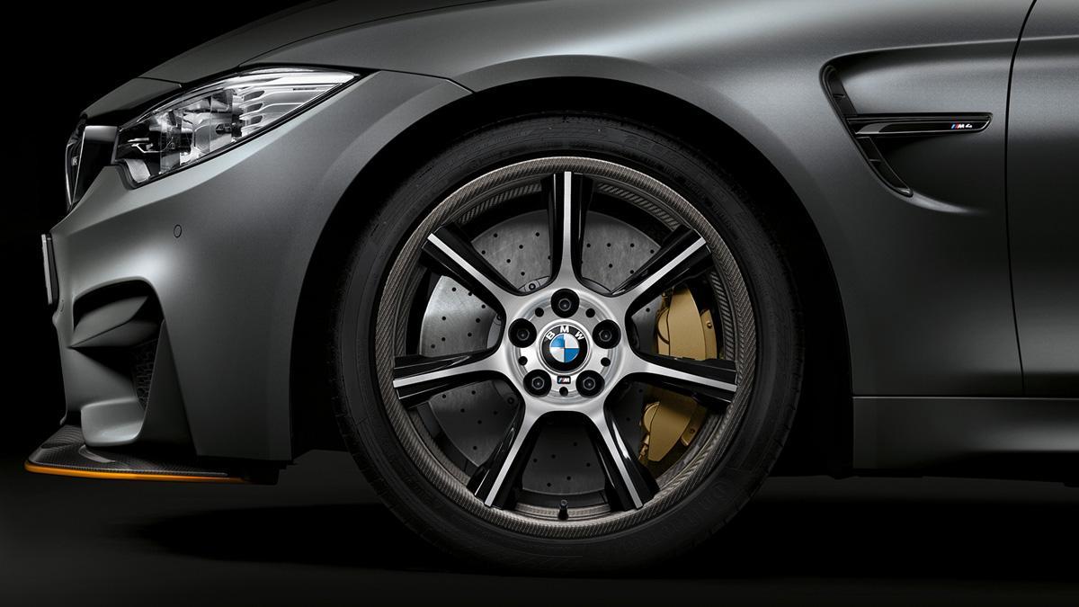 Así son las nuevas llantas de carbono del BMW M4 GTS