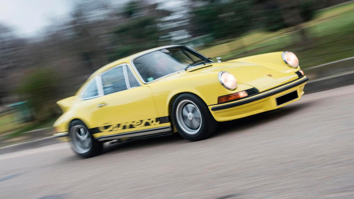 10. Porsche 911 Carrera RS 2.7 Touring (1973). 613.000 euros