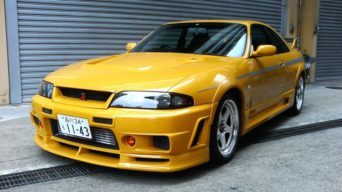 Fast and Furious Nissan GT-R R33