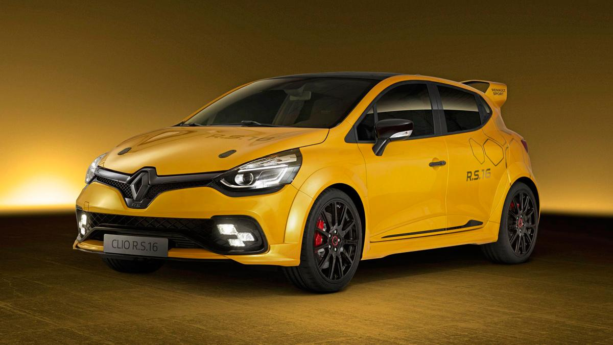 Renault Clio Sport RS16, 1