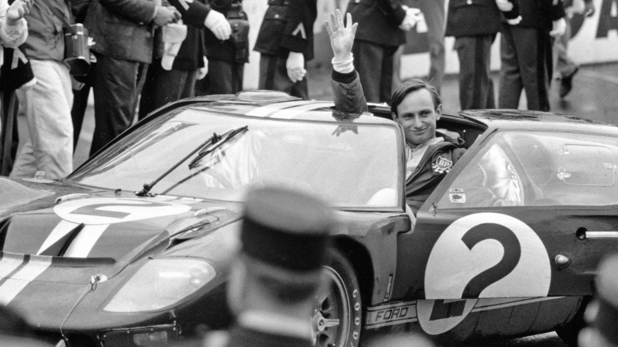 Chris Amon ganó Le Mans en 1966
