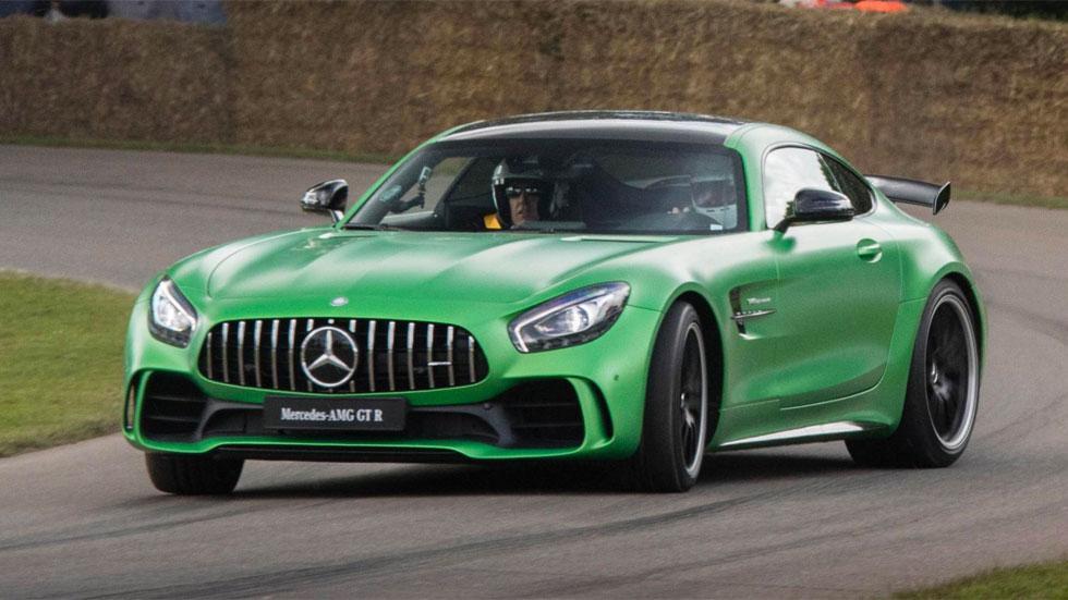 Prueba Mercedes-AMG GT R derrape drift