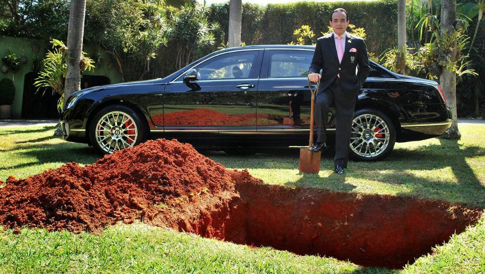 Bentley de millonario brasileño