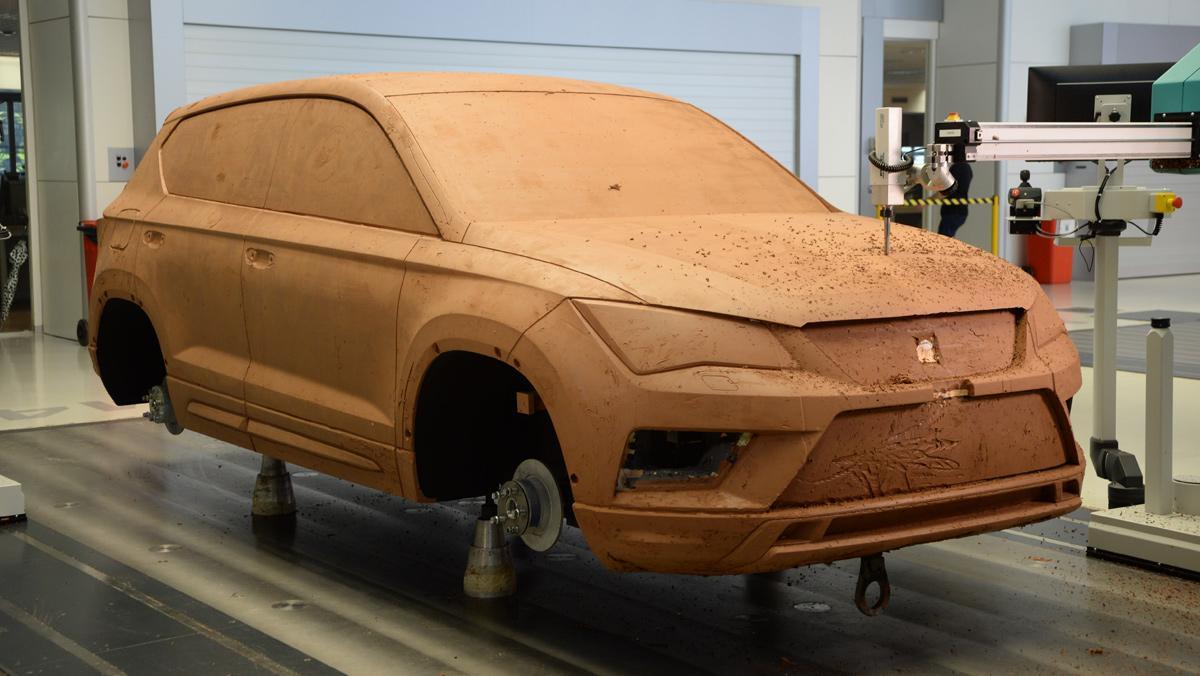Diseño de coches, Seat Ateca, 1