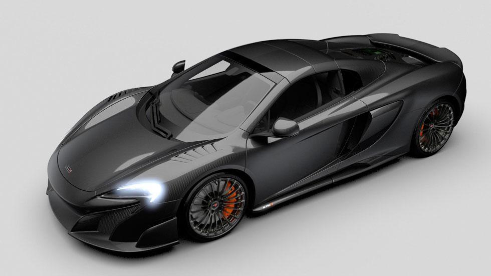 McLaren 675LT Spider MSO Carbono fibra unico