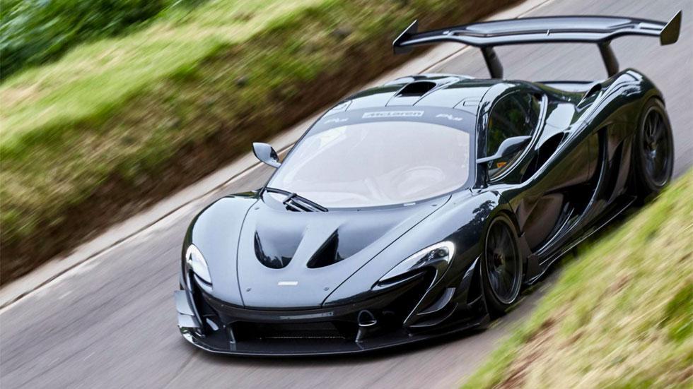 McLaren P1 LM cenital hyperdeportivo