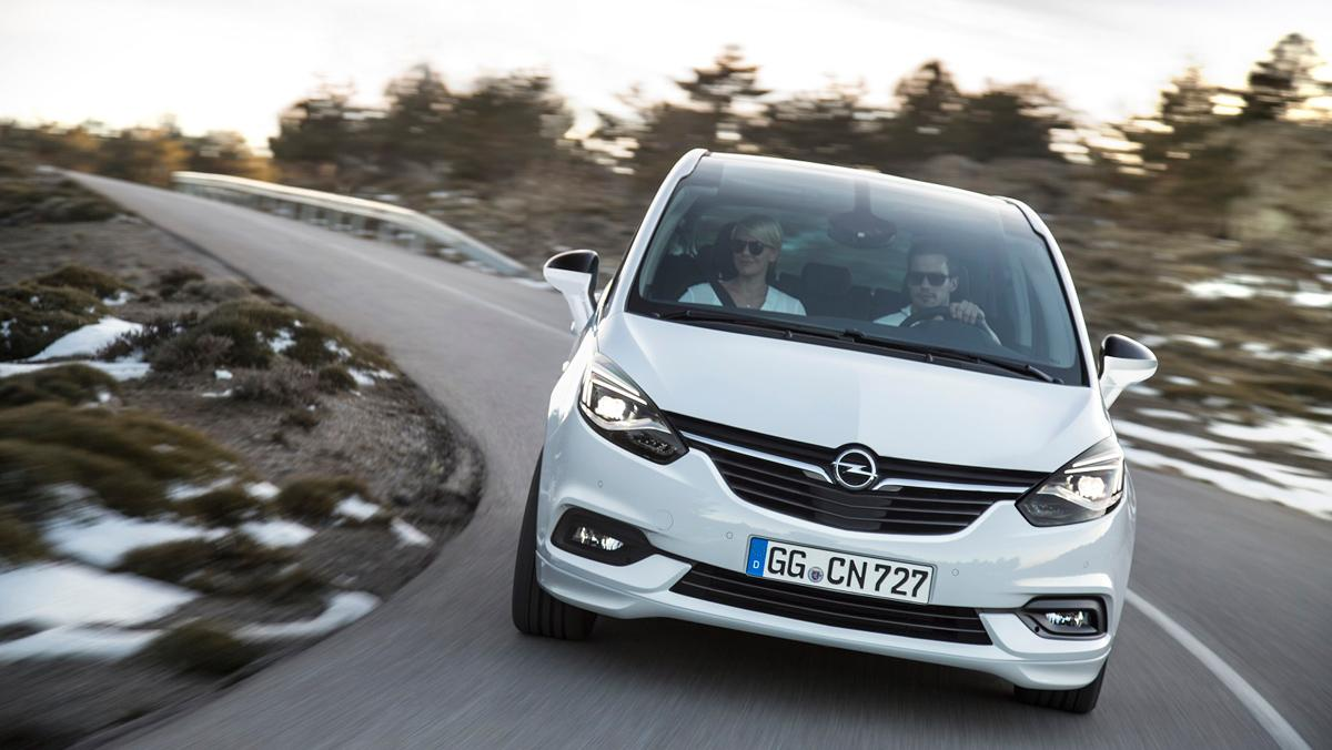 Nuevo Opel Zafira, 1