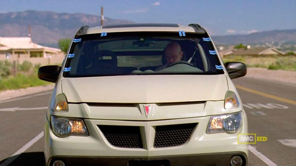 Pontiac Aztec Breaking Bad Walter White