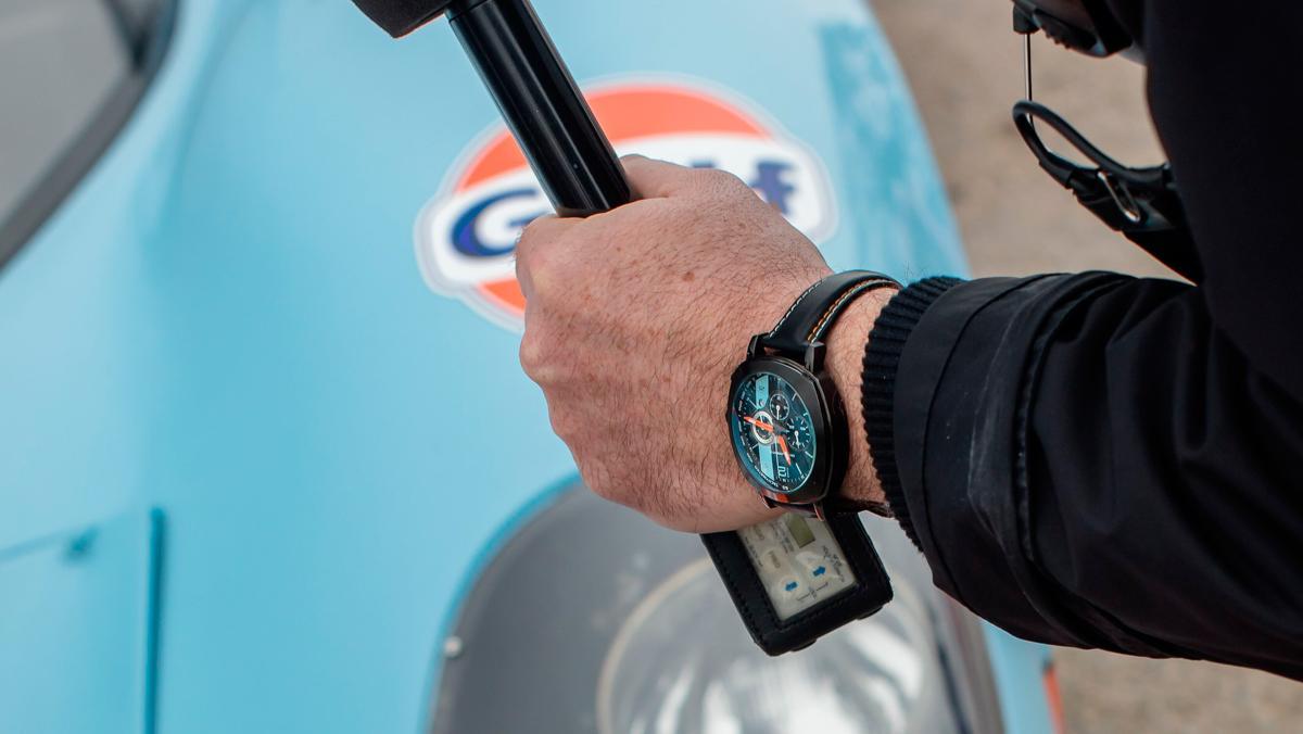 Reloj Omologato Le Mans Racing Black