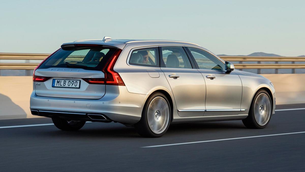 Prueba Volvo V90, 5