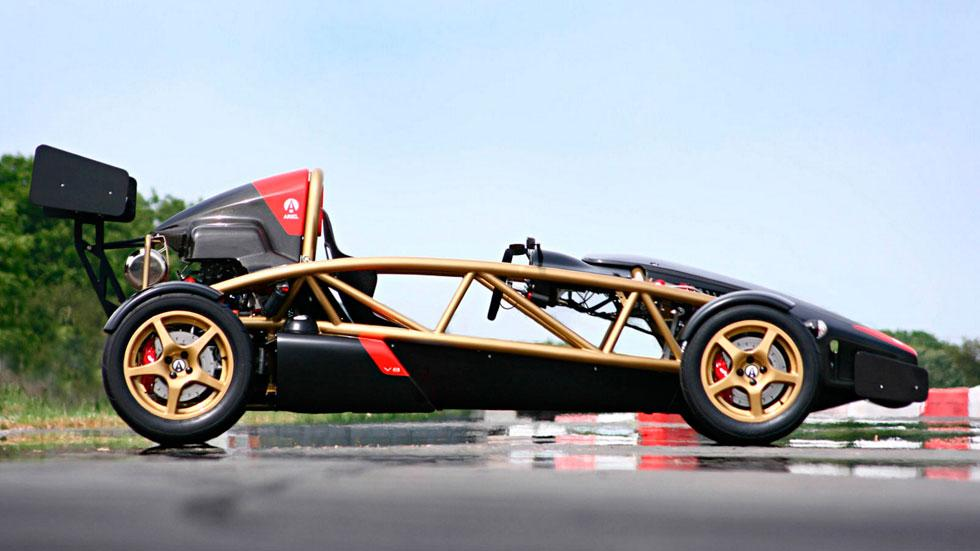 Ariel Atom V8 lateral hyperdeportivo coches ligeros