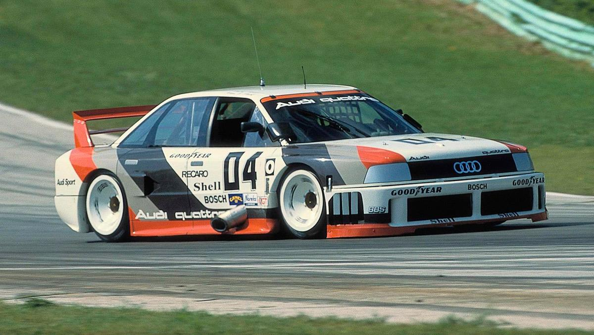 Audi 90 Quattro IMSA GTO, 1