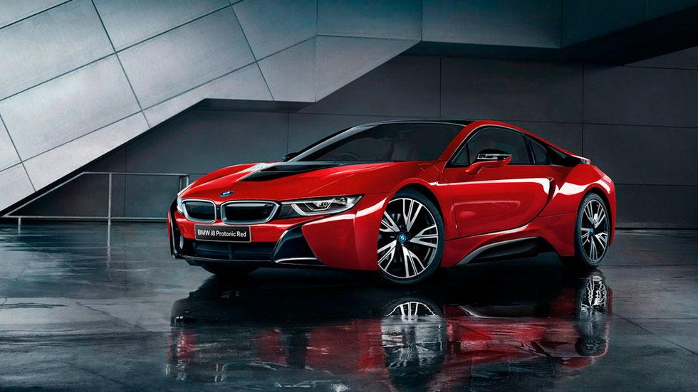 BMW i8 Celebration Edition protonic red